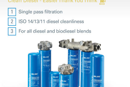 Donaldson Filtration Solutions Mock-up Product Display Stand Design