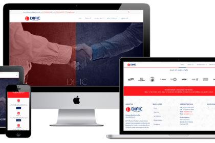 DIFIC Trading (Pty) Ltd Web Design
